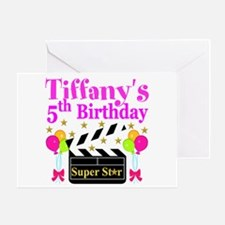 PERSONALIZED 5TH Greeting Card