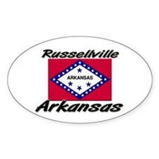 Russellville Arkansas Oval Decal