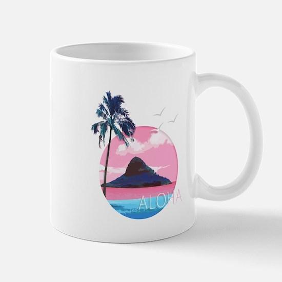 Aloha Mokoli'i Island Hawaii Mugs