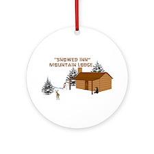 """Snowed Inn"" Ornament (Round)"