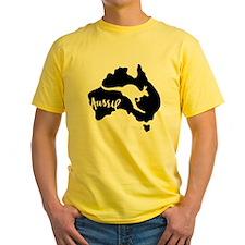aussie_roo_white-T T-Shirt