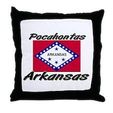 Pocahontas Arkansas Throw Pillow