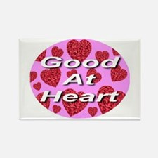 Good At Heart Rectangle Magnet