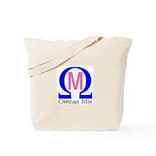 Omega Mu Tote Bag