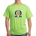Omega Mu Green T-Shirt