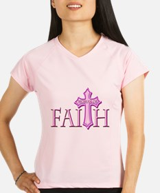 Woman of Faith Performance Dry T-Shirt