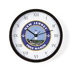 New Jersey Freemason Wall Clock