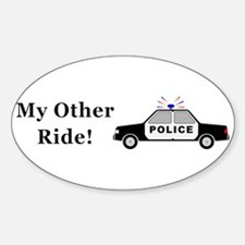 Police My Other Ride Decal