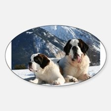 saint bernard group Decal