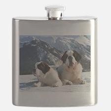 saint bernard group Flask