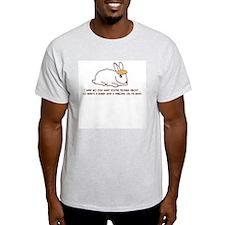 Pancake Bunny Ash Grey T-Shirt