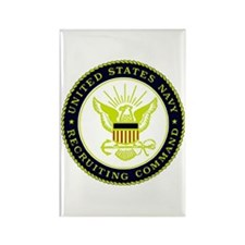 US Navy Recruiting Command Rectangle Magnet