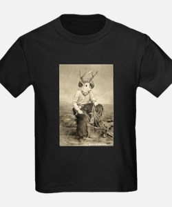 Just Jackalope Ash Grey T-Shirt