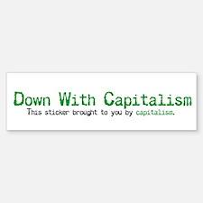 Capitalism Bumper Bumper Bumper Sticker