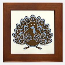 Vintage Turkey Framed Tile