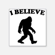 Bigfoot I Believe Sticker