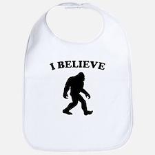Bigfoot I Believe Bib