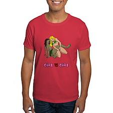 Girl VS Girl Westling T-Shirt