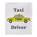 Taxi Driver Throw Blanket