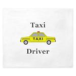 Taxi Driver King Duvet