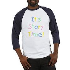 It's Story Time! Baseball Jersey