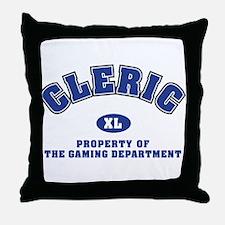 Cleric Dept Throw Pillow