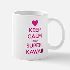 Keep Calm and Super Kawaii Mugs
