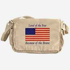 Land of the Free Messenger Bag