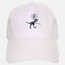 T-Rex Loves Occupational Therapy Baseball Baseball Cap