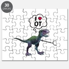 T-Rex Loves Occupational Therapy Puzzle