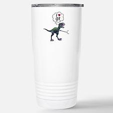 T-Rex Loves Occupationa Stainless Steel Travel Mug
