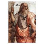 Plato Education: Large Poster
