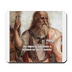 Plato Education: Mousepad
