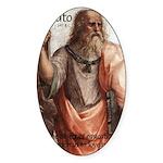 Plato Education: Oval Sticker
