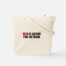 Iraq-Vietnam 2-sided Tote Bag
