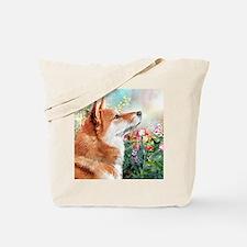 Shiba Inu Painting Tote Bag
