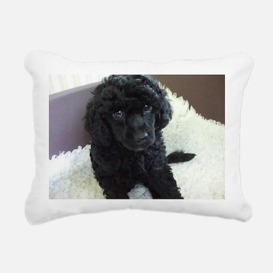 Unique Poodle Rectangular Canvas Pillow