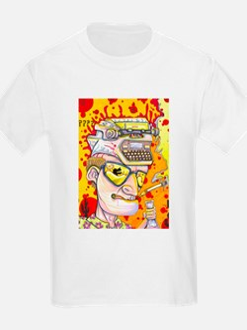 Gonzo Waltz Hunter S Thompson T-Shirt