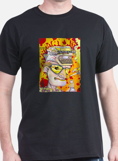 Gonzo Waltz Hunter S Thompson T-Shirt