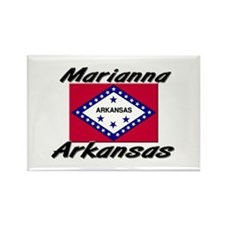 Marianna Arkansas Rectangle Magnet