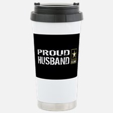 U.S. Army: Proud Husban Travel Mug