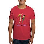 Girl VS Girl Basketball Dark T-Shirt