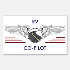 Rv Co-Pilot Decal