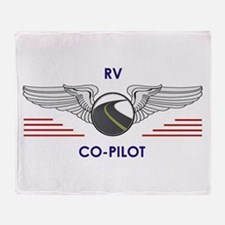 RV Co-Pilot Throw Blanket