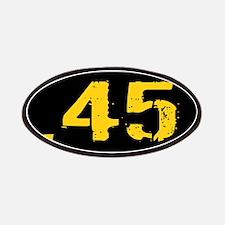 .45 Ammo: Black & Gold Patch