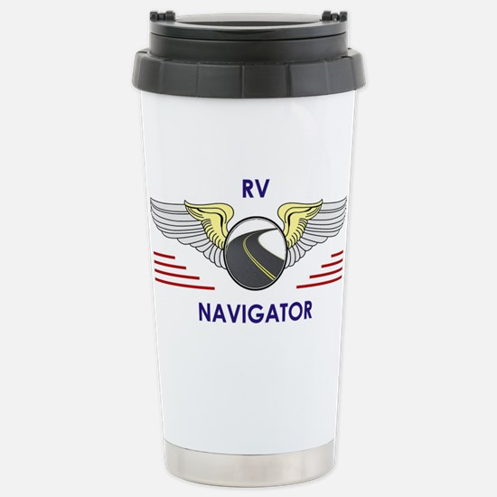 RV Navigator Travel Mug