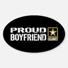 U.S. Army: Proud Boyfriend (Black) Decal