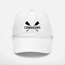 Canoeing crossed paddles Baseball Baseball Cap