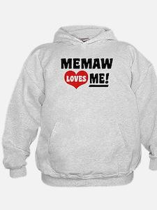 MeMaw Loves Me Hoodie
