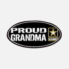 U.S. Army: Proud Grandma (Black) Patch